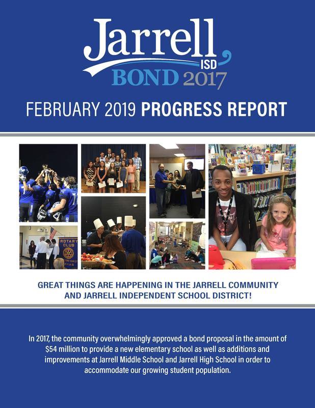 Jarrell ISD Bond Report Card