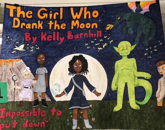 Honorable Mention for The girl who drank the moon