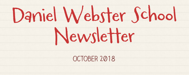 Daniel Webster School Newsletter