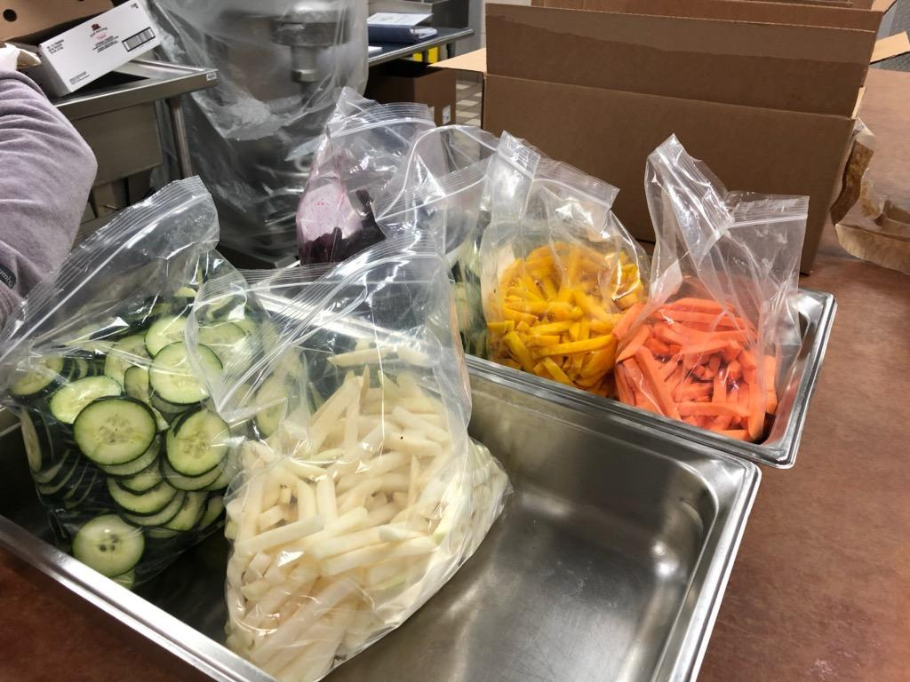 Organic spiralized veggies