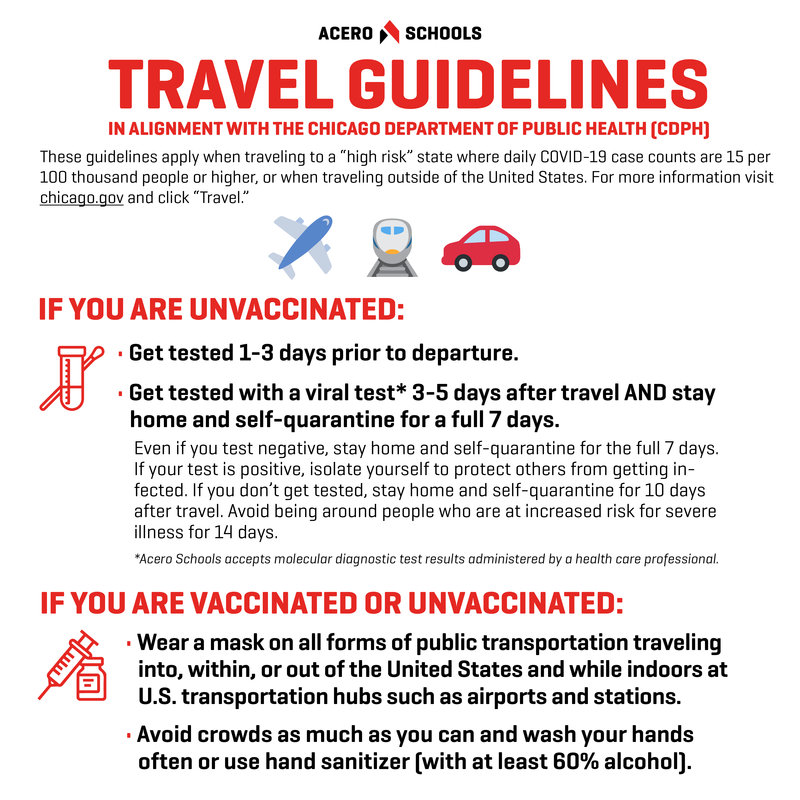 Travel Guidance Updates