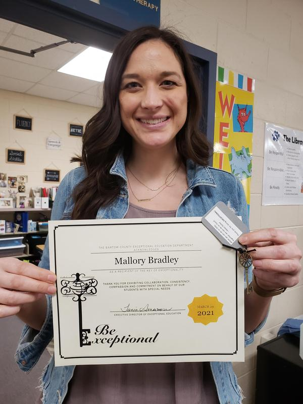 Congratulations Mrs. Bradley Featured Photo