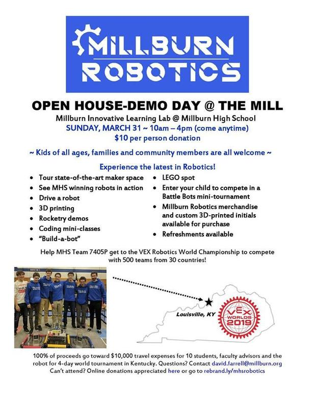Robotics Day flier