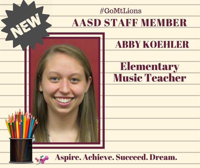 AASD Welcomes Abby Koehler Thumbnail Image