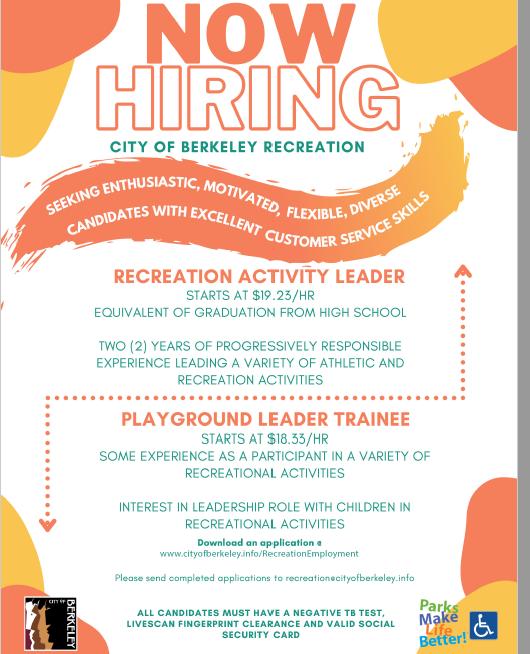 Berkeley jobs