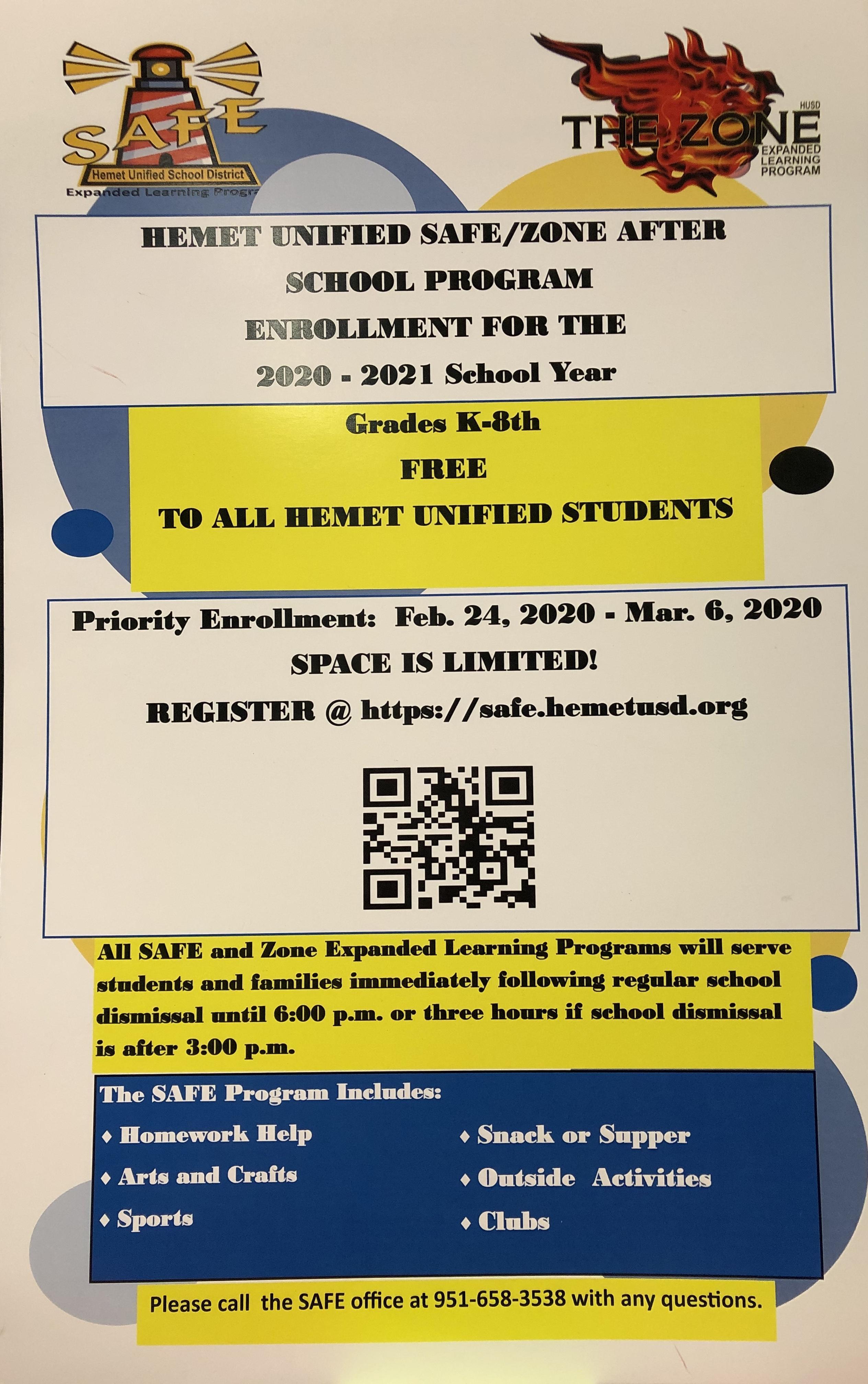 QR Code for Quick Enrollment