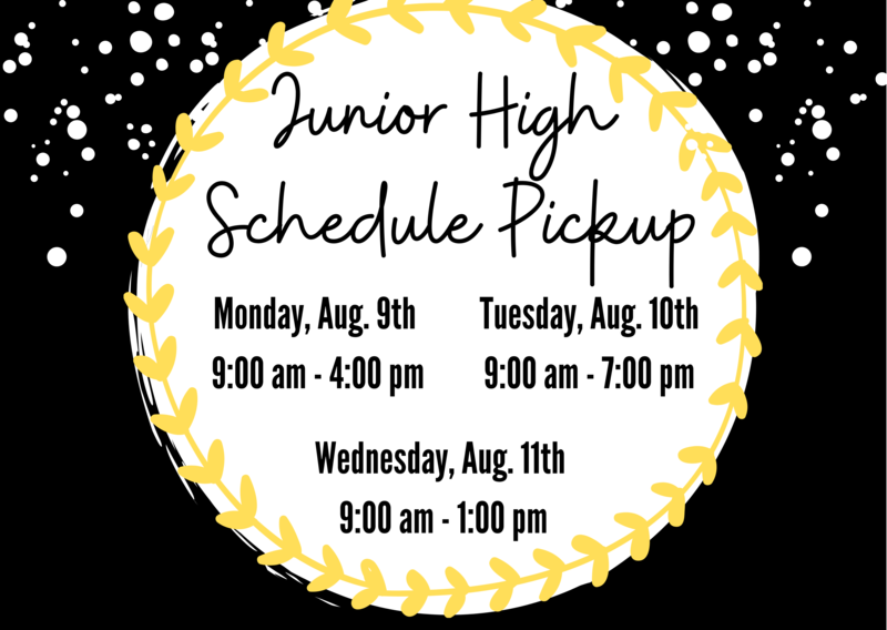 Schedule Pickup, JH Students Featured Photo