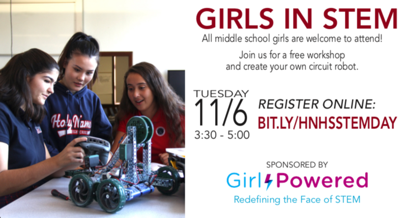 Girls in STEM Day Thumbnail Image