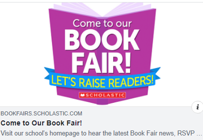 Scholastic virtual book fair logo