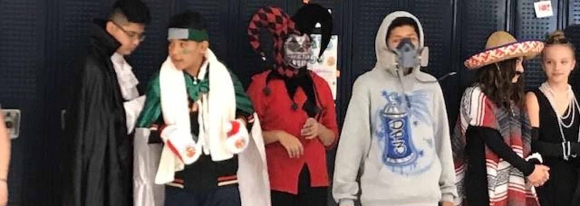 7th grade costumes