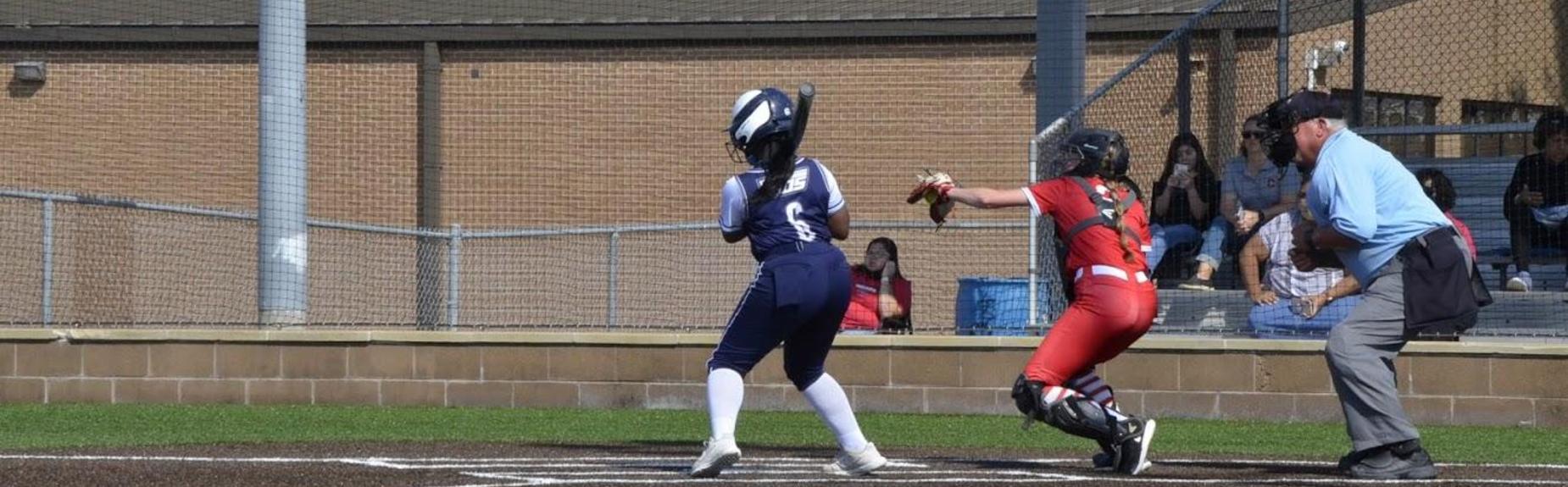 Girls Softball batter