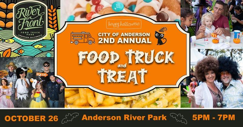 City of Anderson 2nd Annual Truck and Treat flyer