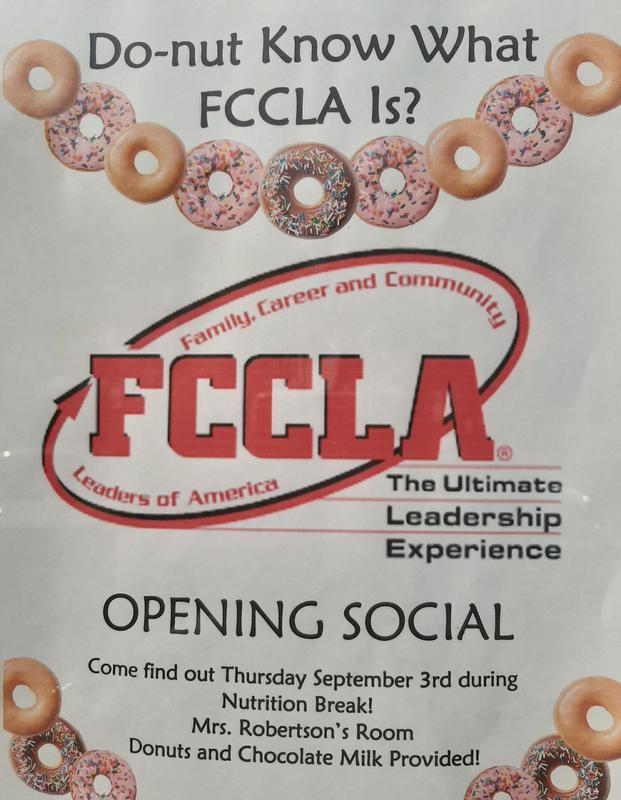 FCCLA Flyer