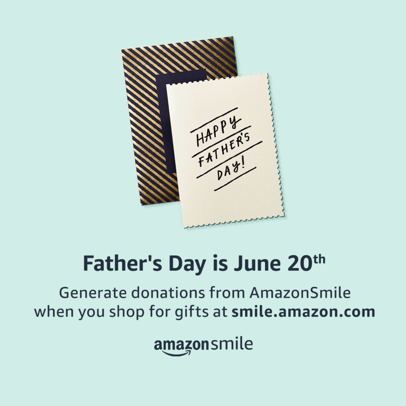 FATHERS DAY SHOPPING AT AMAZON BENEFITS OUR STUDENTS! Featured Photo