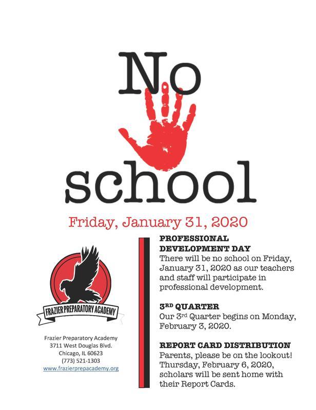 professional development day no school for scholars