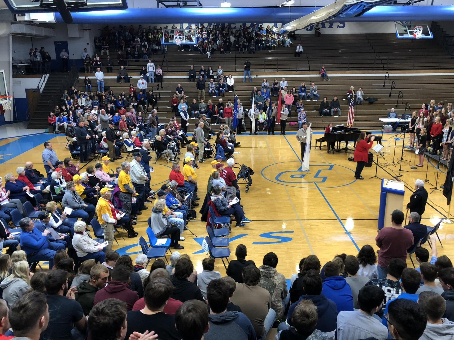 2019 Veterans Day assembly