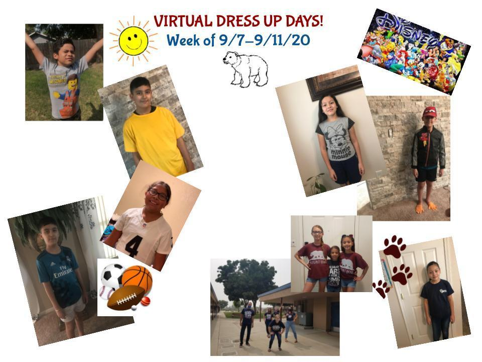 Sept dress up days