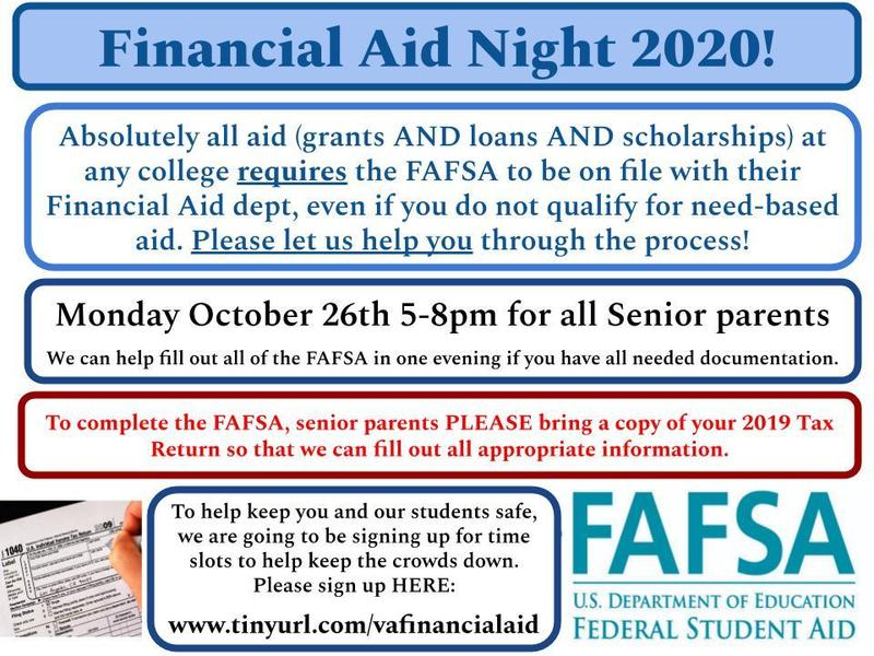 Financial Aid Night 2020 Thumbnail Image