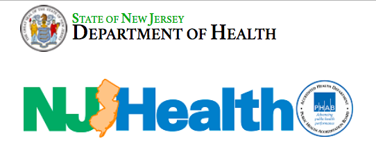 NJ Dept. of Health Logo
