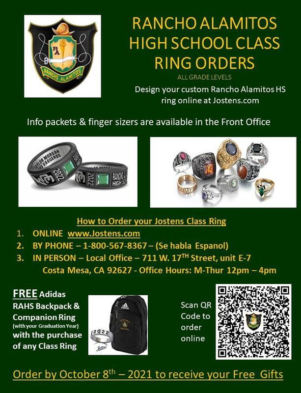 Rancho Alamitos Class Ring Information Featured Photo