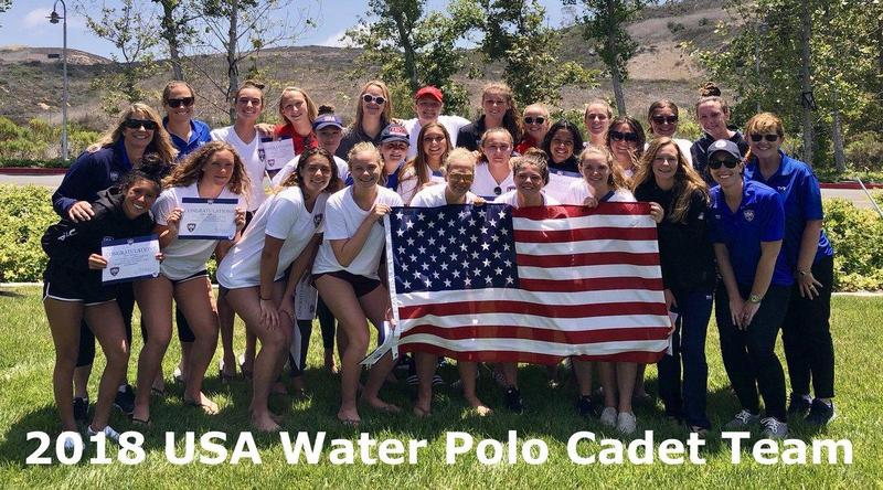 Rosary's Bianca Becerra has been chosen for the 2018 USAWP Women's Cadet Team! Featured Photo