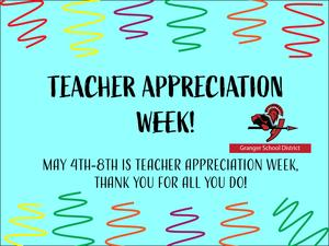 Photo of teacher appreciation week