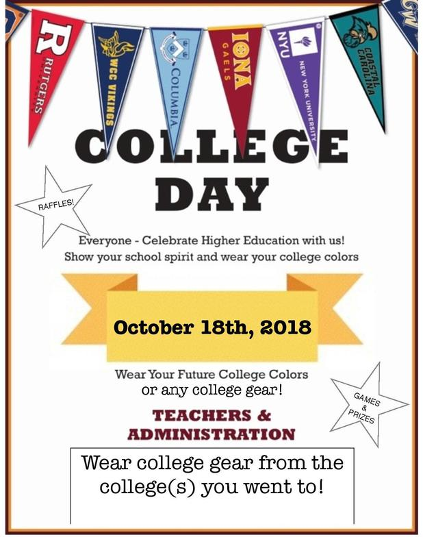 CCA college day flier.