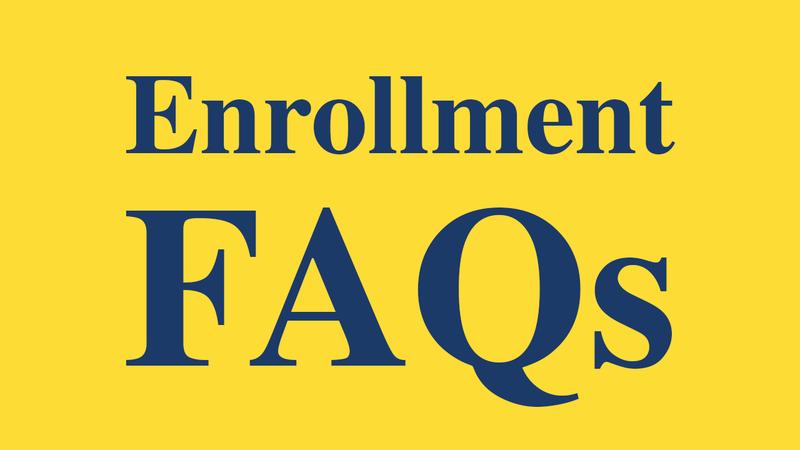Enrollment FAQs Thumbnail Image