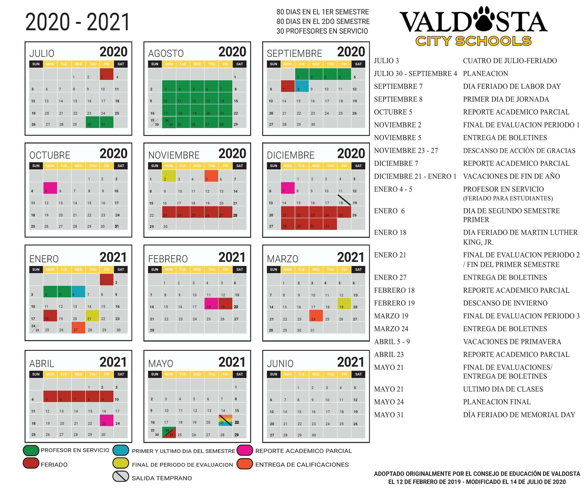 Uga Academic Calendar 2021 2022