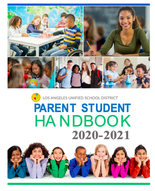 2020-21 Parent Student Handbooks Featured Photo