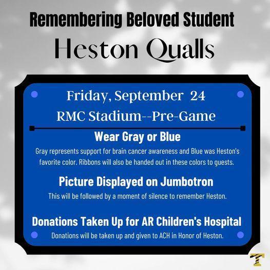 Remembering Heston Qualls Featured Photo