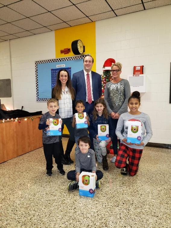 Monessen Elementary receives early Christmas Gifts