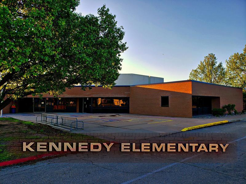 Kennedy Elementary GLOW RUN Event April 2021