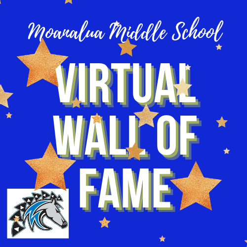 1st Quarter Virtual Wall of Fame is READY to view! Featured Photo