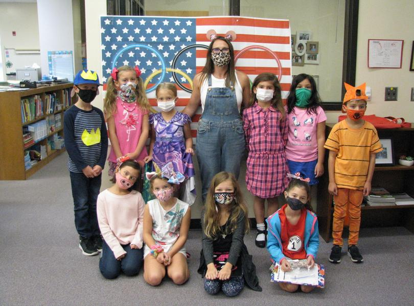 Book Character Dress Up Day 2021