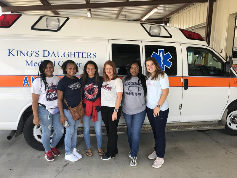 Health Science visit to Life Flight and AMR facility at Kings Daughters Thumbnail Image