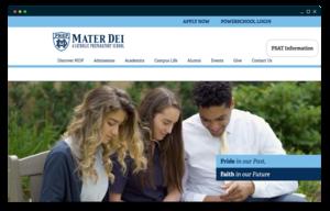 mater dei prep's homepage
