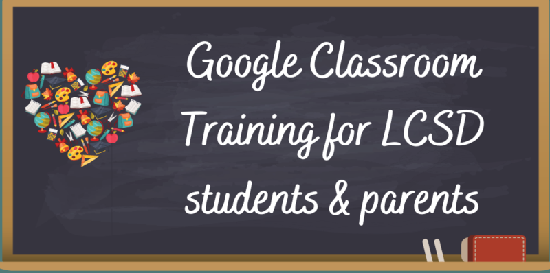 Google Classroom Training Graphic