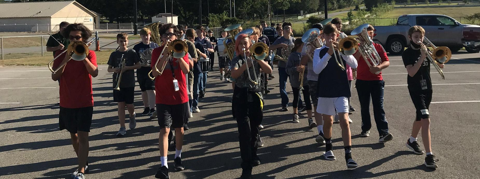 band parade practice