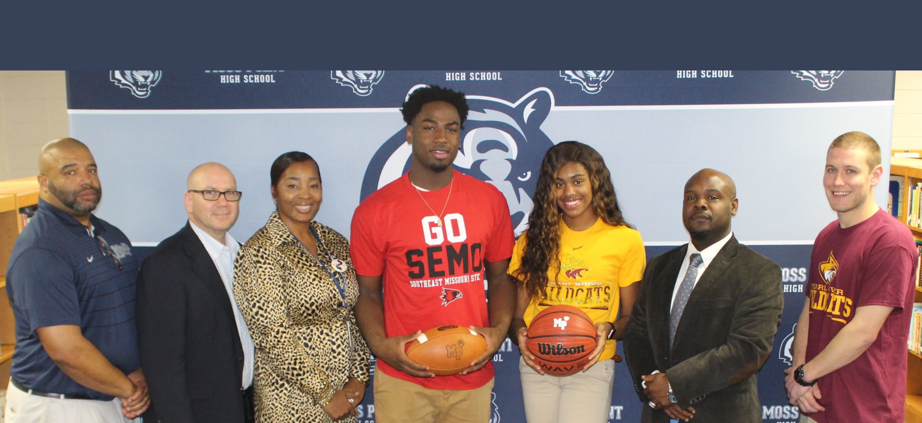 students with administrators