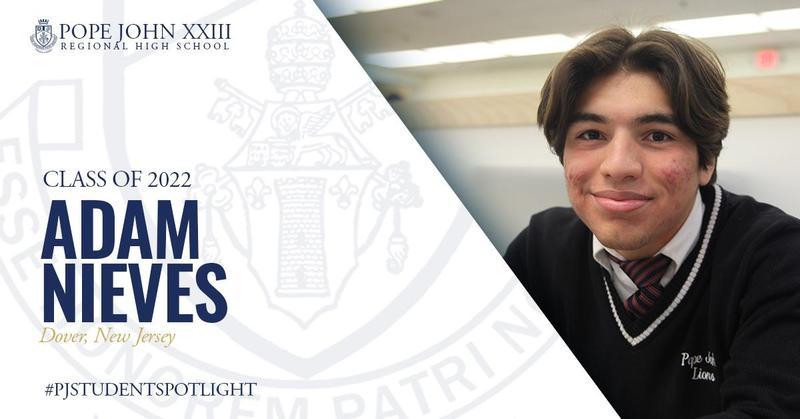 PJ Student Spotlight Adam Nieves
