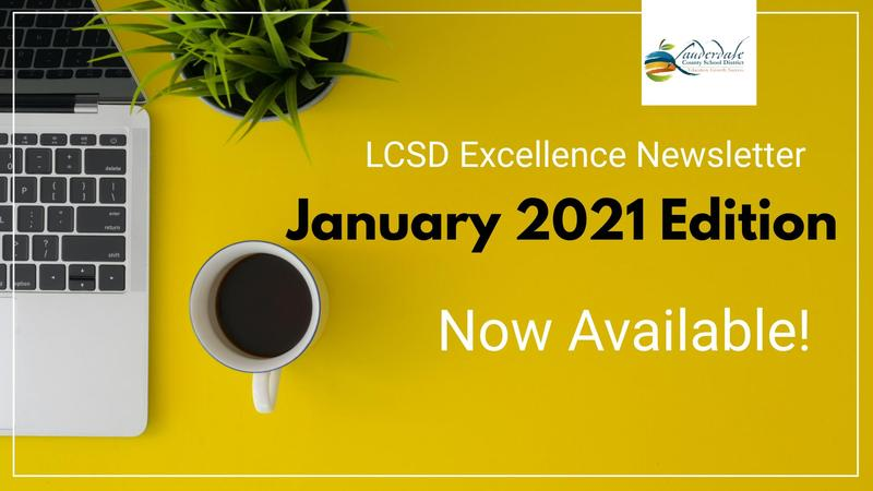 LCSD January Newsletter Available Graphic
