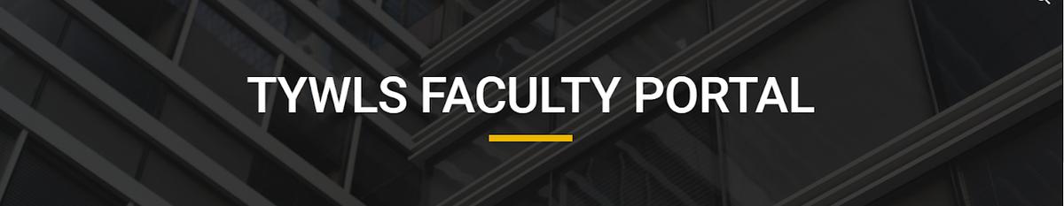 TYWLS Faculty Portal