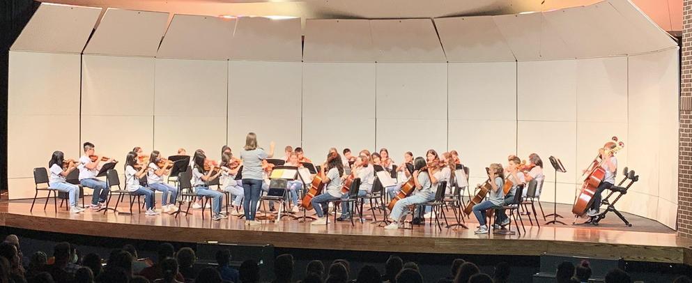 6th grade Orchestra Concert Fall 2021