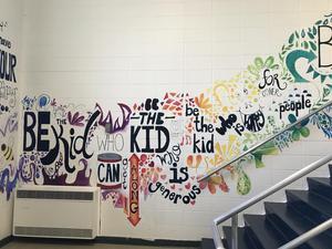 EMS mural