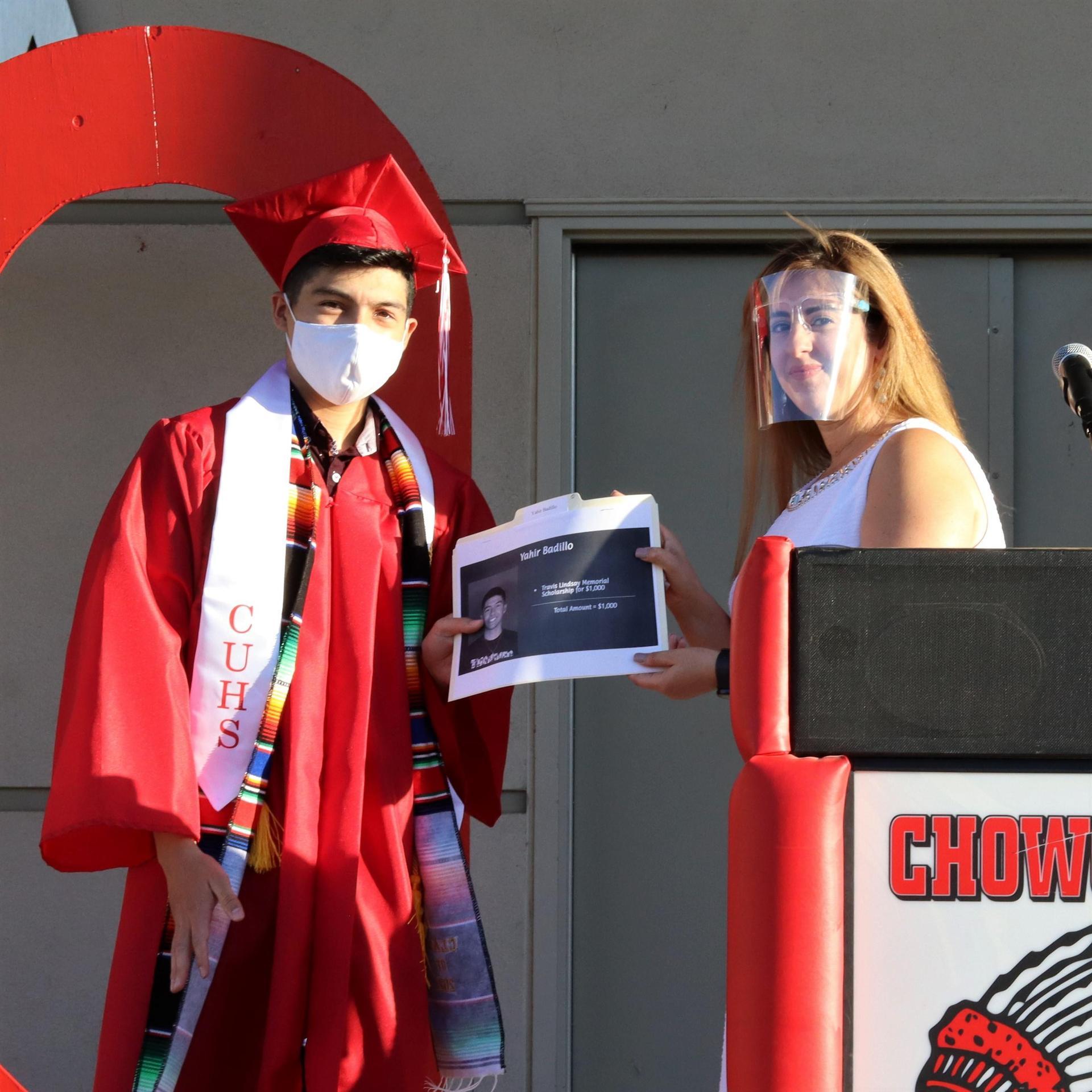 scholarship recipient