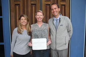 Brandi Hartigan Teacher of Excellence award.JPG