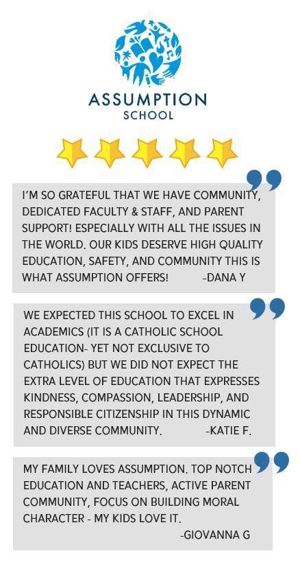 Five Stars for Assumption School