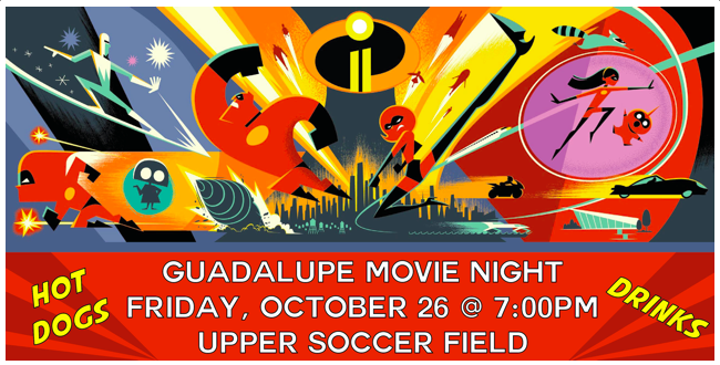 Guadalupe Movie Night hosted by the 5th Grade Class! Featured Photo