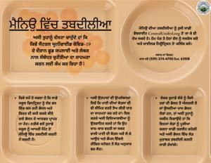 Menu Changes Punjabi